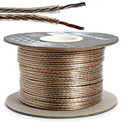 Bulk Speaker Wire, 16-Gauge 2-Conductor , 300-Feet Spool