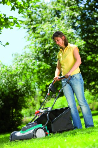 Gardena 4025-U 15-Inch 25-Volt 3.2 amp Lithium-Ion Cordless Push Reel Lawn Mower picture