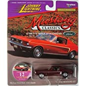 JOHNNY LIGHTNING MUSTANG CLASSICS SERIES 1968 MUSTANG GT 1:64 SCALE DIE-CAST