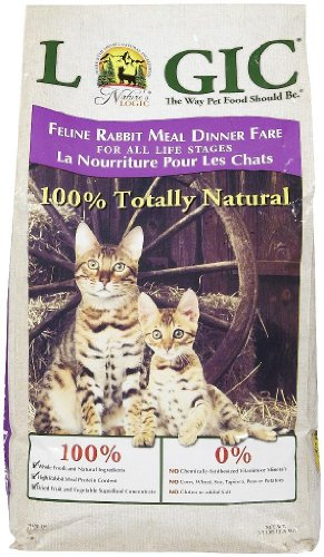 Image of Natures Logic Natural Rabbit Dry Cat Food 7.7lb