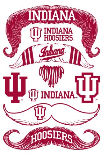 StacheTATS Indiana Temporary Mustache Tattoos - 1
