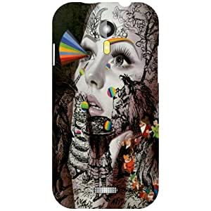 Micromax A117 Canvas Magnus Phone Cover -Beauty & Girl Matte Finish Phone Cover