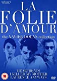 La Folie Damour: The Xavier Dolan Collection - 3-DVD Box Set ( Jai tué ma mère / Les amours imaginaires / Laurence Anyways ) ( I Killed My Mother / Heartbeats (Heart beats) / Lau [ NON-USA FORMAT, PAL, Reg.2 Import - United Kingdom ]