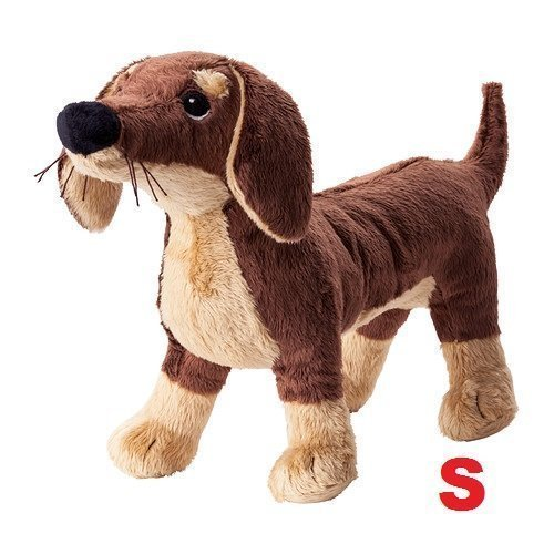 Ikea Stuffed Animal Dog Puppy Plush Soft Toy - 1