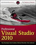 img - for Professional Visual Studio 2010 book / textbook / text book