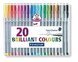 ステッドラー 細書きペン トリプラスファインライナー 334SB20 20色