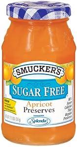 Smucker's Sugar Free Apricot Preserves 12.75 oz