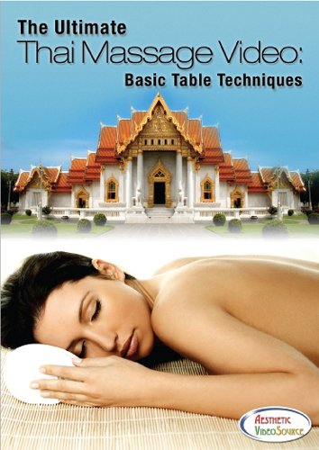 The Ultimate Thai Massage Video: Basic Table Techniques - Massage Therapy Training DVD - Learn How To Do Table Thai Yoga Massage - This Video Was Featured in Skin Inc. and Positive Health Magazine - Very Informative - Great Content (1 Hr. 48 Mins.) (Dvd Side Table compare prices)