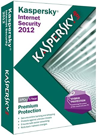 Kaspersky Internet Security 2012 - 3 Users