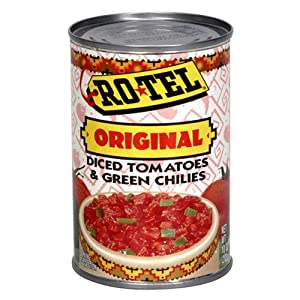 Rotel Tomato & Green Chilies, Diced, 10-Ounce Cans (Pack of 12) by Rotel