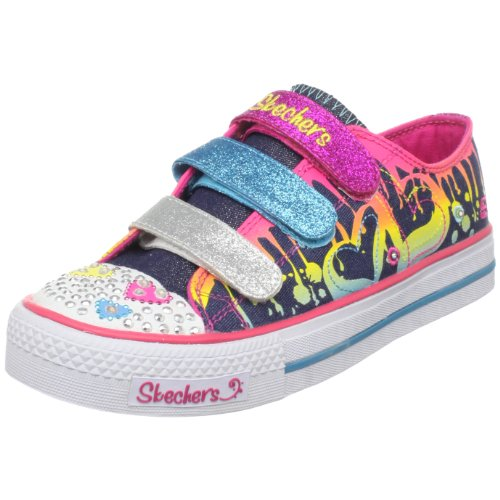 Picture of Skechers Twinkle Toes S Lights Dualing Hearts Lighted Sneaker (Little Kid/Big Kid) B003B3NFKK (Skechers)