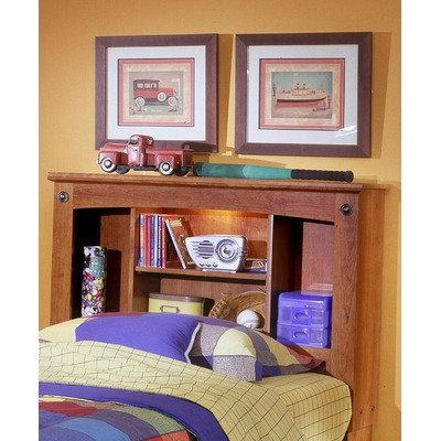 Image of City Park Kids Twin Bookcase Headboard in Cherry (B005GQCD1M)
