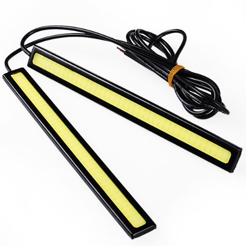 Brand New 2X Waterproof Super Bright Cob White Led Lights Drl Fog Driving Lamp Daylight For Bmw Hot