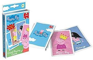 Peppa Pig - Cartas de juego gigantes (Jumbo 00905)