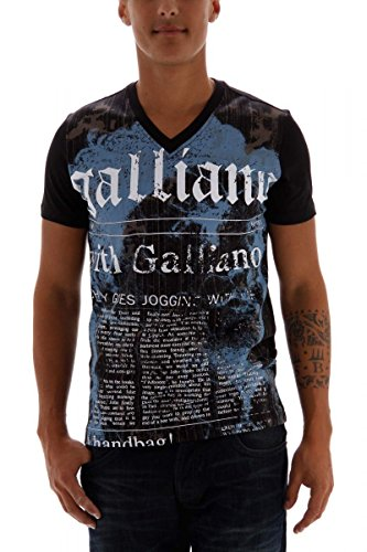 john-galliano-t-shirt-noir-x-large