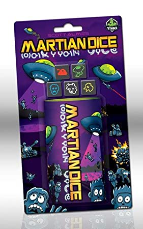Martian Dice Game