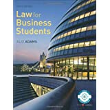 Law for Business Studentsby Ms Alix Adams