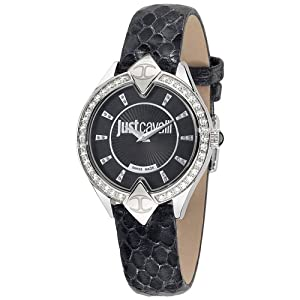 Just Cavalli R7251590501 Women's Sphinx Black Dial Watch