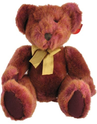 Russ Berrie Bears of the Past Tinker Red & Gold Teddy Bear