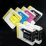 【むさしのメディアオリジナル】 ブラザー互換 LC10-4PK+BK2 4色+黒2個インクカートリッジ [フラストレーションフリーパッケージ(FFP)]