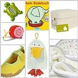 """Geschenkbox Plitsch Platsch XL, inkl. Bio-Baumwoll Kapuzenbadetuch - das perfekte Geschenk f�r Geburt, Taufe und Schwangerschaftvon """"Little Things"""""""