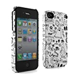 Proporta Doodle Pad Hard Shell Case Cover Sleeve Skin for Apple iPhone 4Sby Proporta