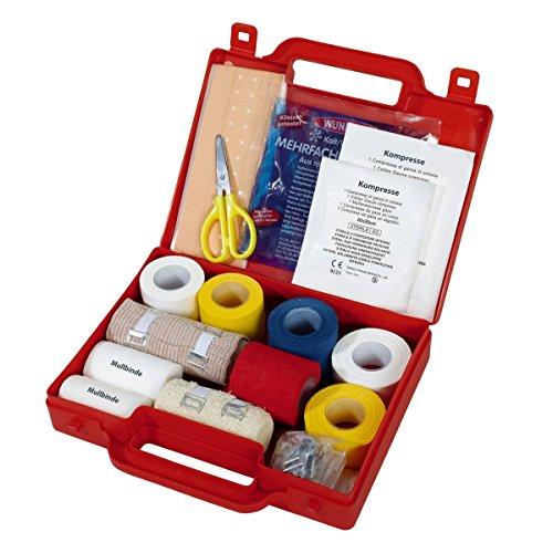 Bandagen-Koffer Sportfixierbänder und selbsthaftende Bandagen