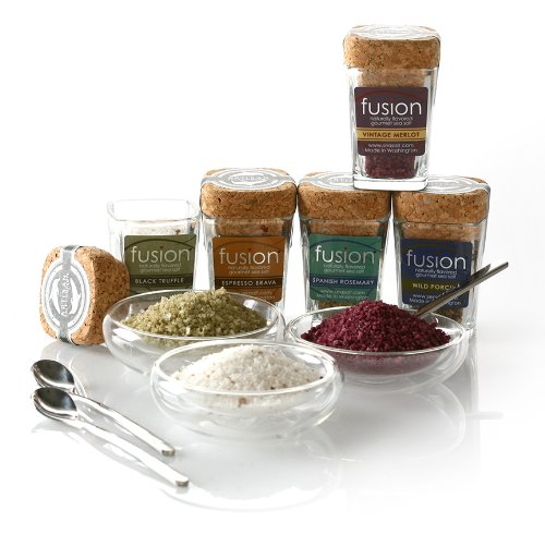 Limited Edition Fusion Salt Sampler w/3 bowls