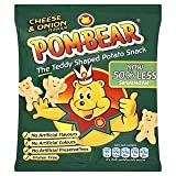 Pom-Bear Cheese & Onion Flavour 19g x Case of 36