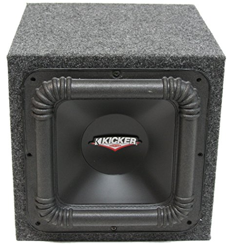 "Kicker Custom Car Audo Single 10"" Sealed Square Subwoofer 800W Sub Box Enclosure"