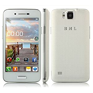 BML S55W Dual SIM Dual Standby Unlocked WIFI 3G Smartphone Android 4.2.2 MTK6572W 1.3GHz Dual Core Dual Cameras 5.0 MP 4.0