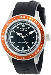 """Invicta Men's 15225 """"Specialty"""" Stainless Steel and Polyurethane Watch"""