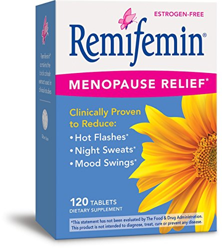 Enzymatic Therapy Remifemin Estrogen-Free Menopause Relief, 120 Tablets (Hot Flash Remedy compare prices)