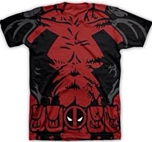 Buy Large Deadpool Costume T-Shirt L by Marvel