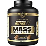 Nutrafx Body Mass Expander | 510 CALORIES | 35g Protein | 21 servings per container | Chocolate Flavored Whey Protein Based Powder 6 Lb.