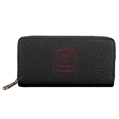 Jack Daniels Tennessee Distillery Wallet For Men Women - Black Credit Card Wallet - 4