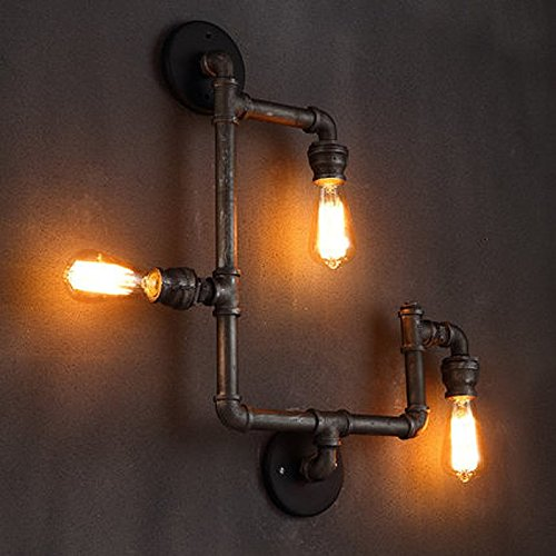 Onepre Vintage Industrial Steampunk Wall Light Fixtures 3