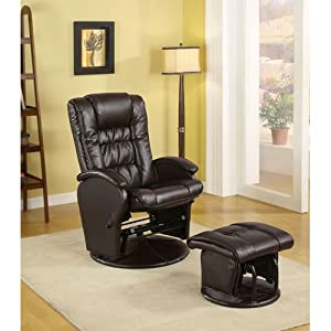 Magnificent Prices Coaster Rimini Euro Faux Leather Glider Recliner And Ibusinesslaw Wood Chair Design Ideas Ibusinesslaworg