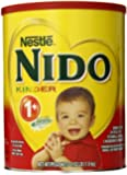Nestle NIDO Kinder 1+ Powdered Milk Beverage, 3.52 lb. Canister