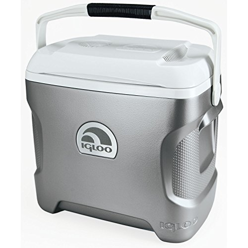 Igloo Iceless Thermoelectric Cooler (Silver/White, 28-Quart) (12v Thermoelectric Cooler compare prices)