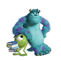 Roommates Rmk2244Slm Monsters University Sully And Mikey Peel And Stick Giant Wall Decals