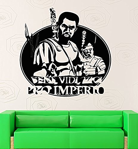 GGWW Rome Wall Stickers Roman Empire Warrior War Military Vinyl Decal (Ig2382)