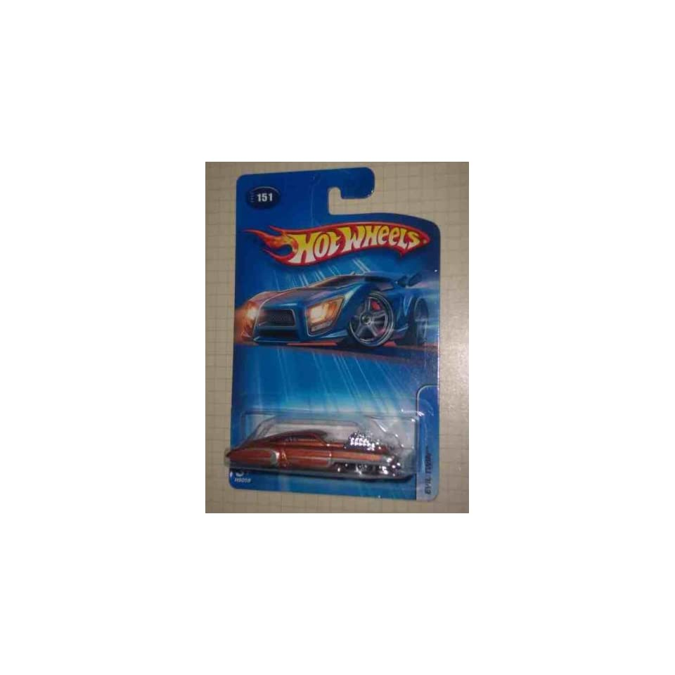 #2005 151 Evil Twin Lace Copper Wheels Collectible Collector Car Mattel Hot Wheels
