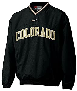 Colorado Buffaloes V-Neck College Windshirt By Nike Team Sports by Nike