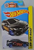 2015 Hot Wheels Hw Off-Road 77/250 - 2008 Mitsubishi Lancer Evolution (Black) by Hot Wheels [並行輸入品]
