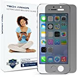 Tech Armor Apple iPhone 5/5c/5s Premium 2-Way Privacy Ballistic Glass Screen Protector - Keep Your Information Private
