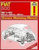 Amazon.com: Fiat 500 Owner's Workshop Manual (Service & repair manuals) (9780900550904): J.H. Haynes, J.C. Larminie: Books