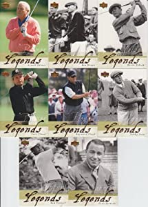 2002 Upper Deck Golf Legends 8 Card Lot Arnold Palmer #48,51,52,53,55,56,58,60