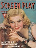 img - for Screen Play, vol. XXI (21), no. 146 (May 1937) (Jean Harlow cover):
