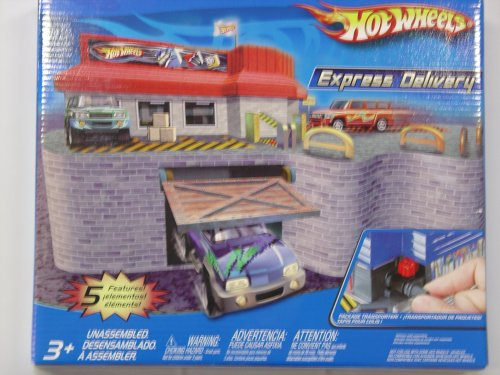 Hot Wheels Express Delivery - Buy Hot Wheels Express Delivery - Purchase Hot Wheels Express Delivery (Hot Wheels, Toys & Games,Categories,Play Vehicles,Vehicle Playsets)